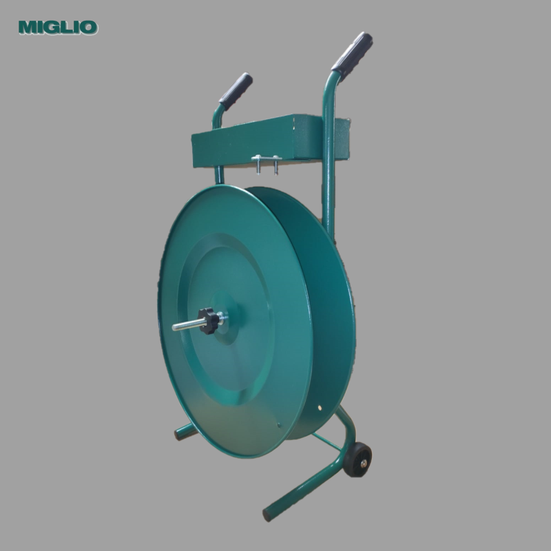 REEL TROLLEY FOR PLASTIC STRAP